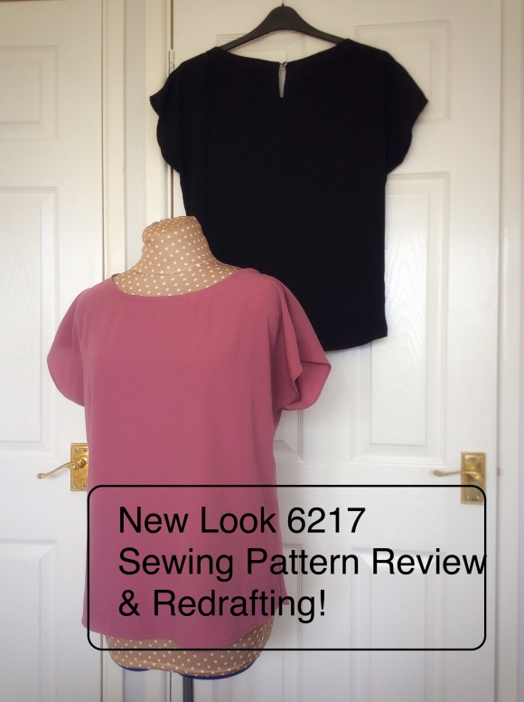 NL6217 sewing pattern review redrafting
