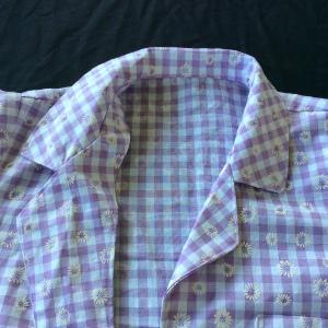 Collar lapel Carolyn Pyjamas