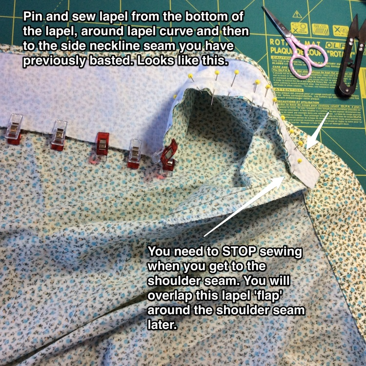 Closet case files sewalong tutorial Carolyn pajamas