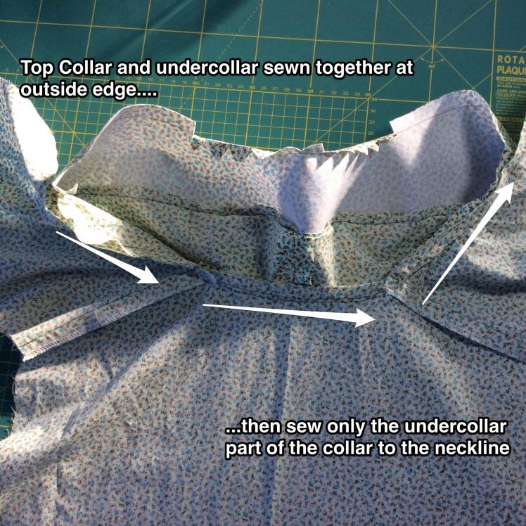 Collar lapels Carolyn Pajamas closet case files sewalong