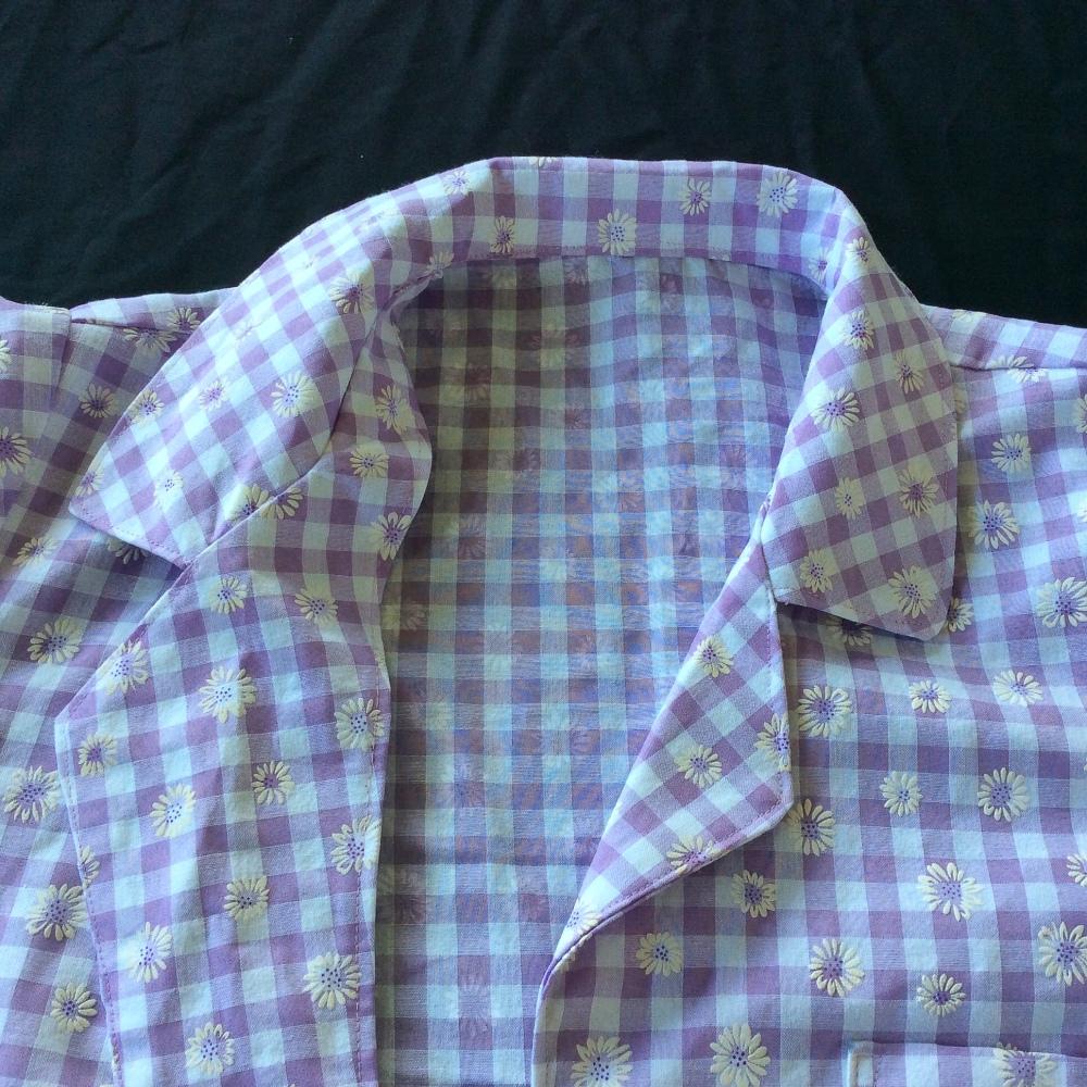 Collar lapel construction sewing Carolyn Pajamas pyjamas closet case files
