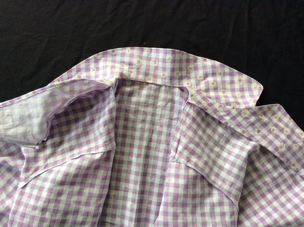 Collar lapel Carolyn Pajamas pyjamas how to closet case files