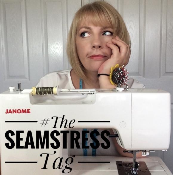 The Seamstress Tag sewing sew Sarah smith