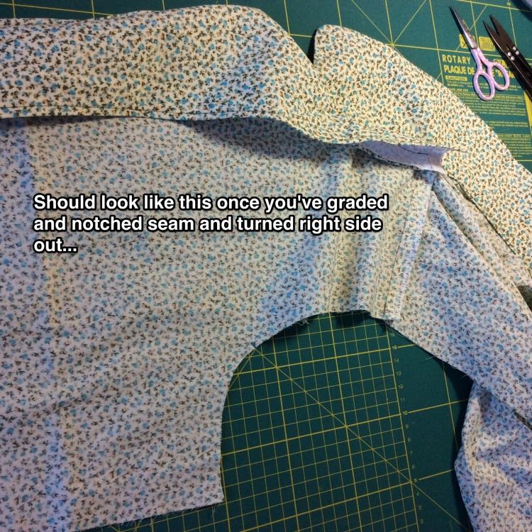Sewalong tutorial Carolyn pajamas pyjamas