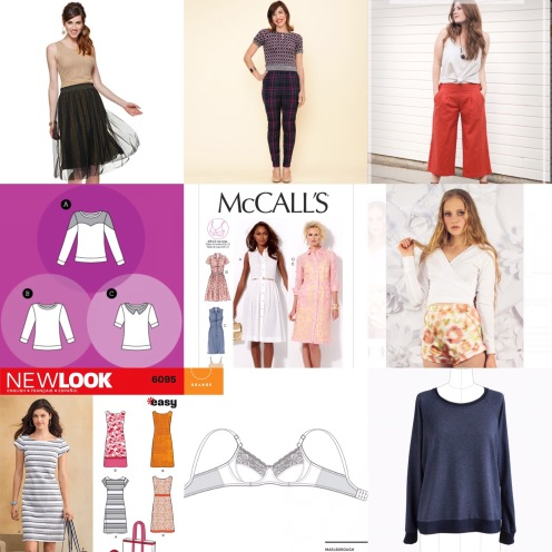Sewing patterns 2017 make nine projects