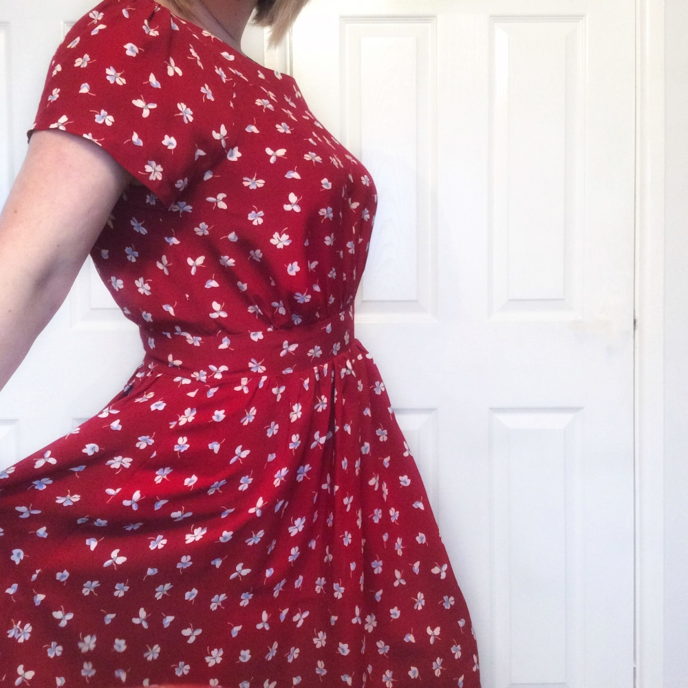 Simple sew Annabelle Dress #thelittlereddressproject the Little Red Dress project