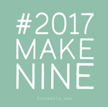 #2017makenine sewing pattern projects