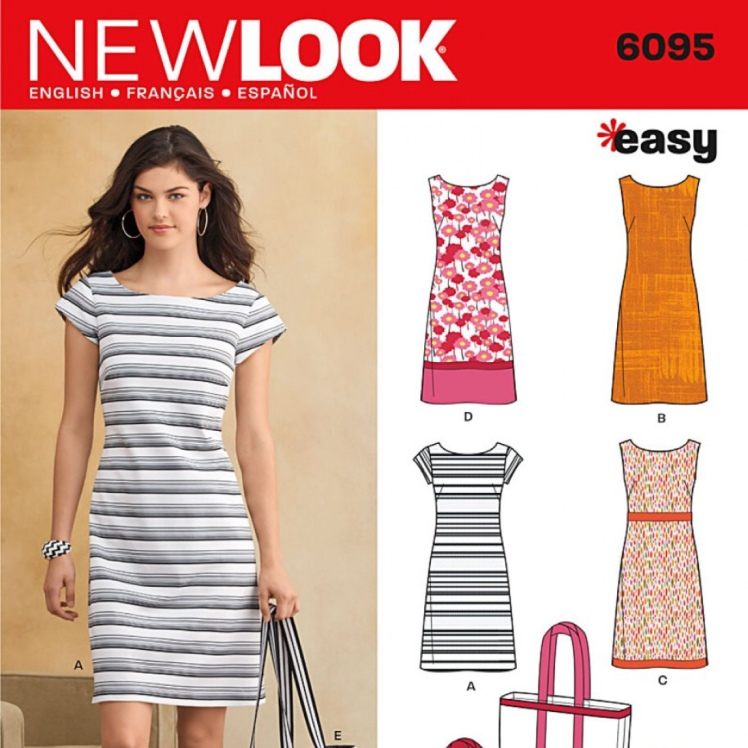 Jersey dress new look 6095