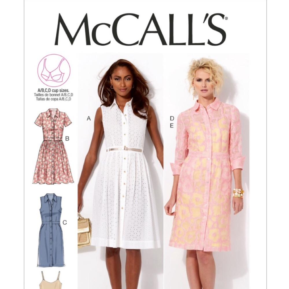 Mccalls shirtdress
