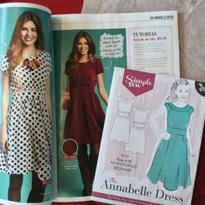 Simp,e Sew Annabelle Dress love sewing magazine