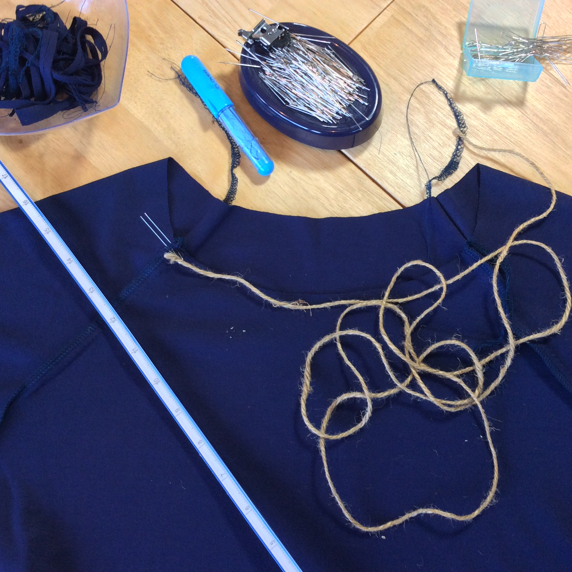How to measure calculate neckband length