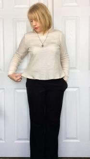 Paola turtleneck knit polo