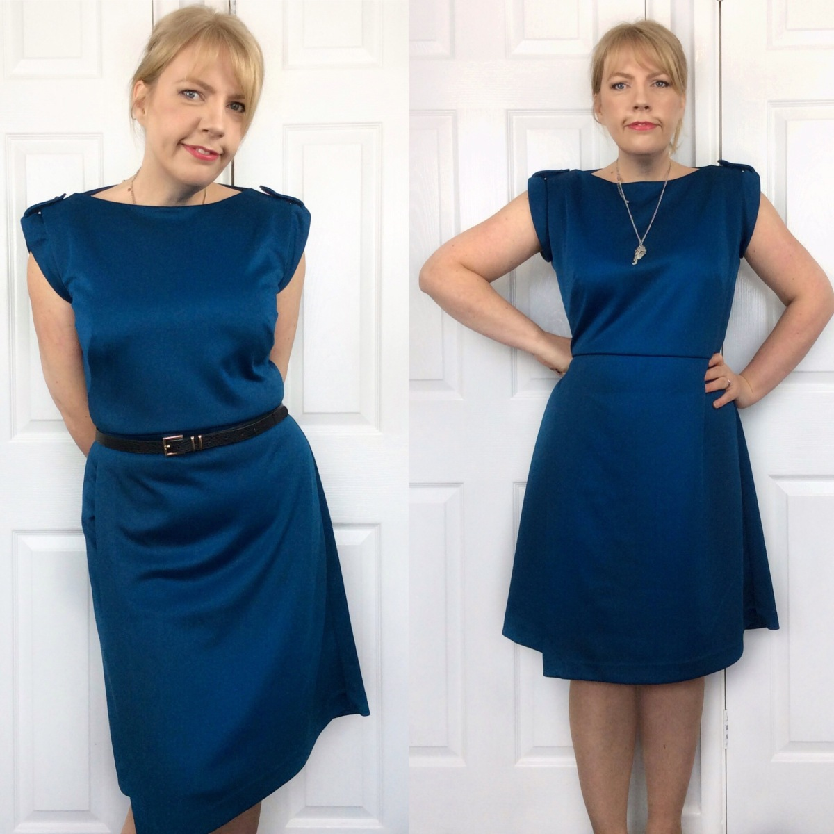 'Project Runway' Scuba Dress - Simplicity 8213 #MCBN