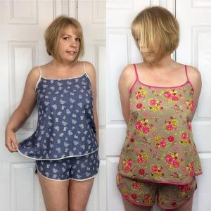 Lakeside PJs Summer pj sewing pattern
