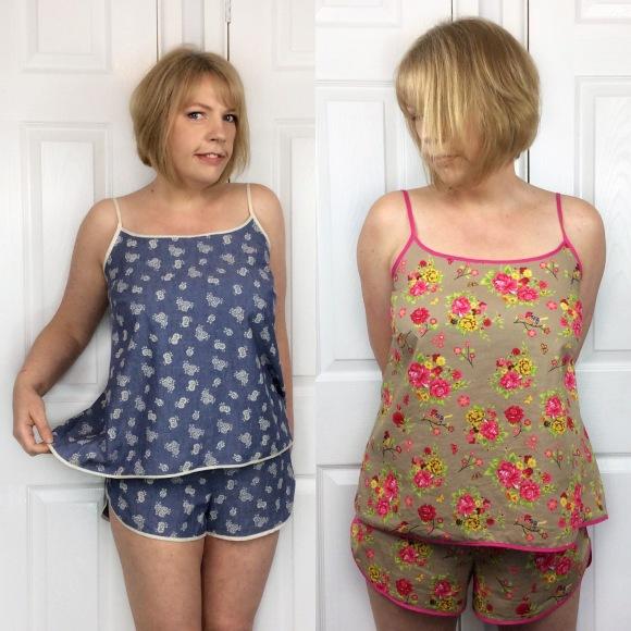 Sew Sarah smith lakeside Pajamas Grainline Studio sewing pattern review