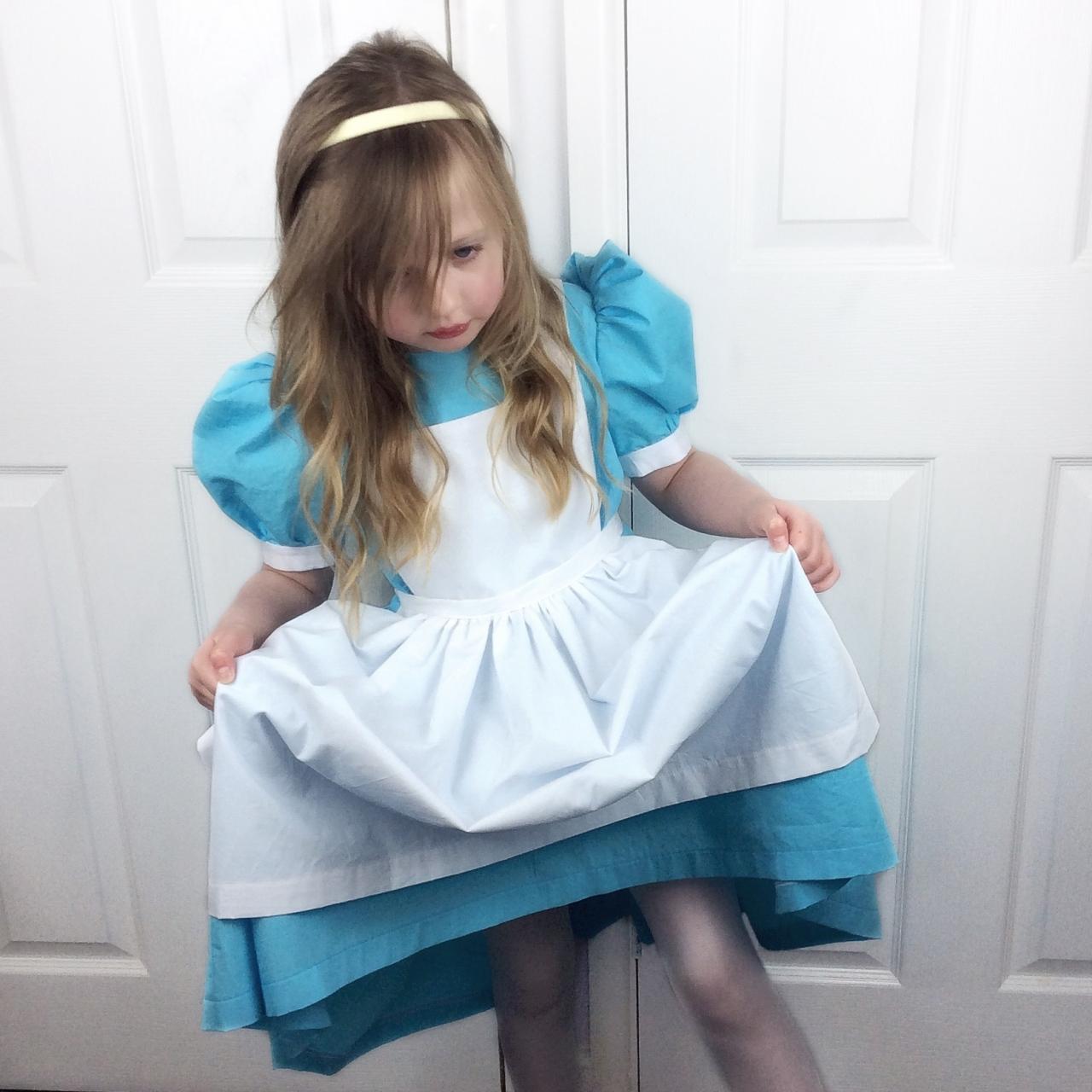 Alice in Wonderland sewing pattern