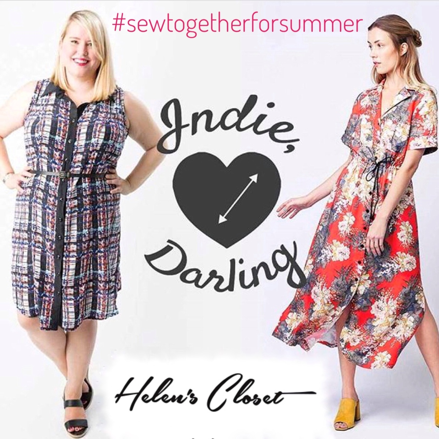 #sewtogetherforsummer Indie darling