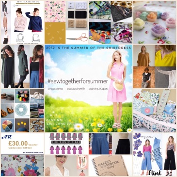 Sew together for summer prizes