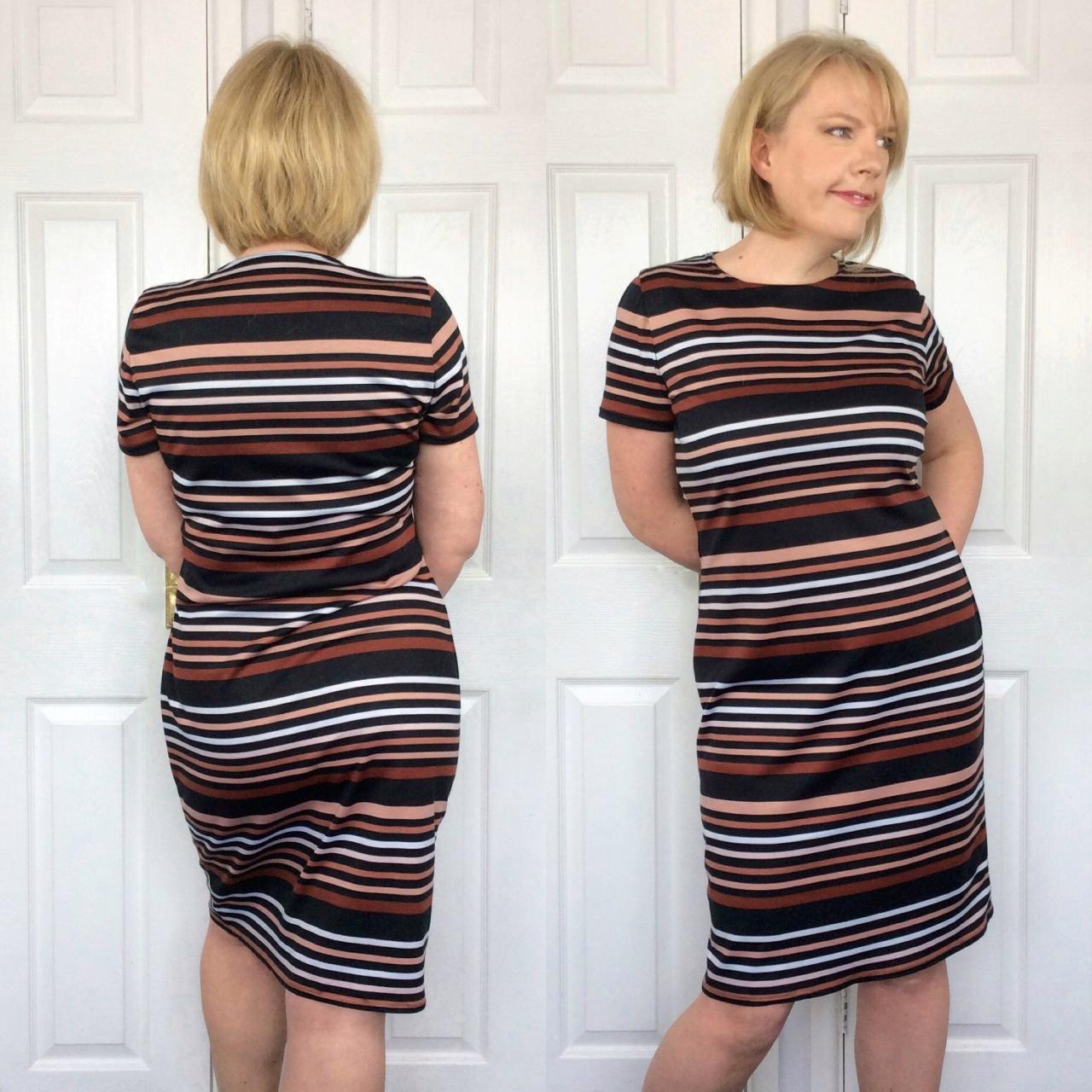 McCalls jersey dress