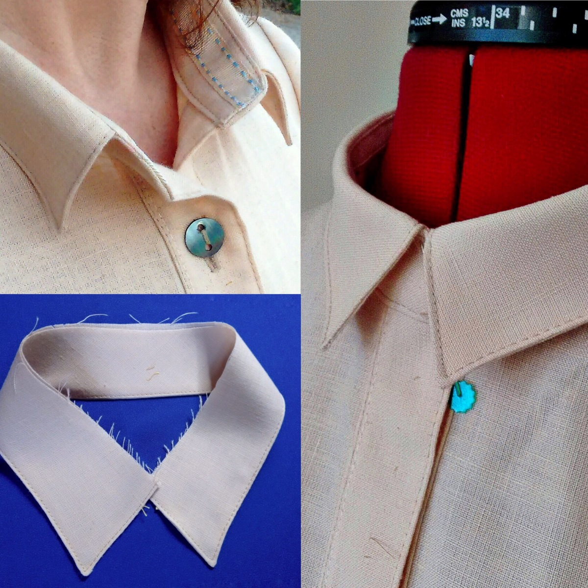 Sewing Collars : 10 Tips 'n' Tricks!