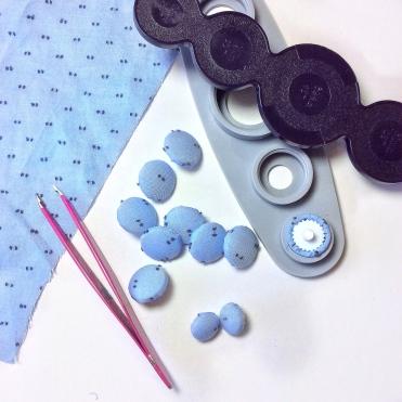 Shirtdress buttonholes