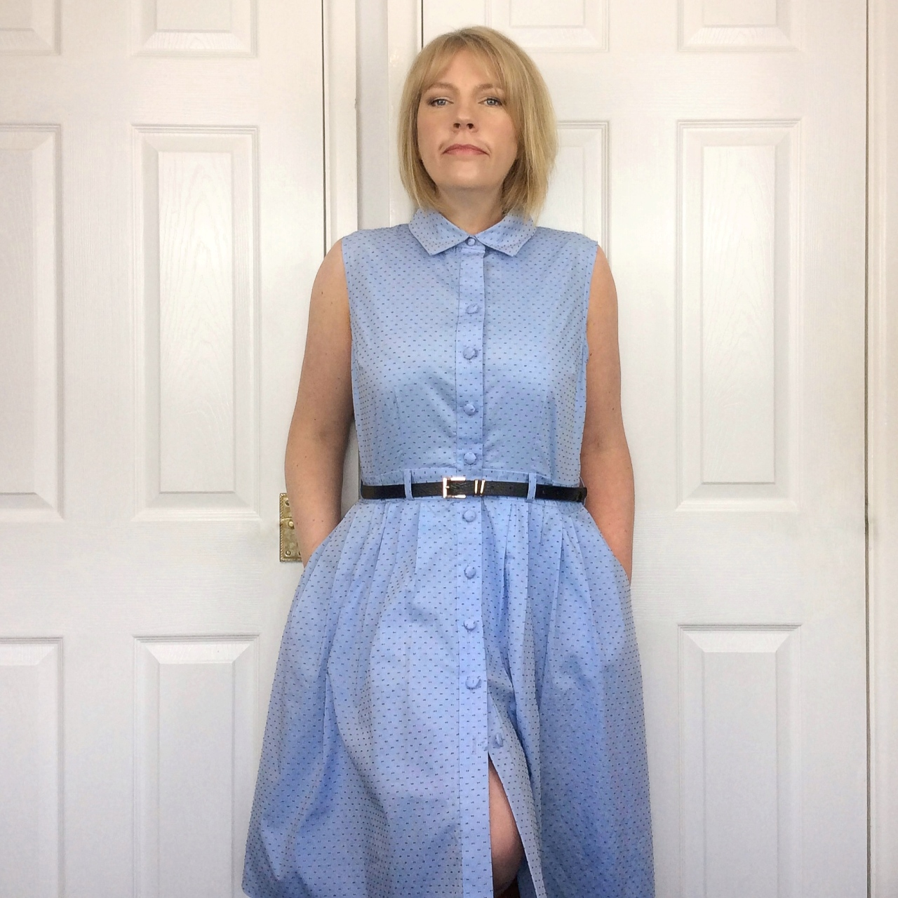 Sew together for summer shirtdress