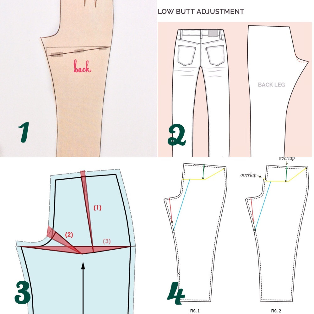 Pant fitting sewing
