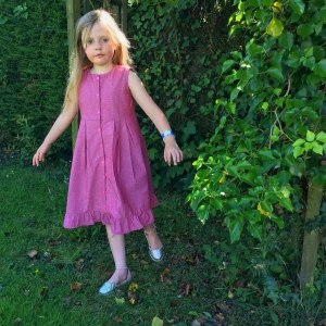 Girls Shirtdress sewing pattern