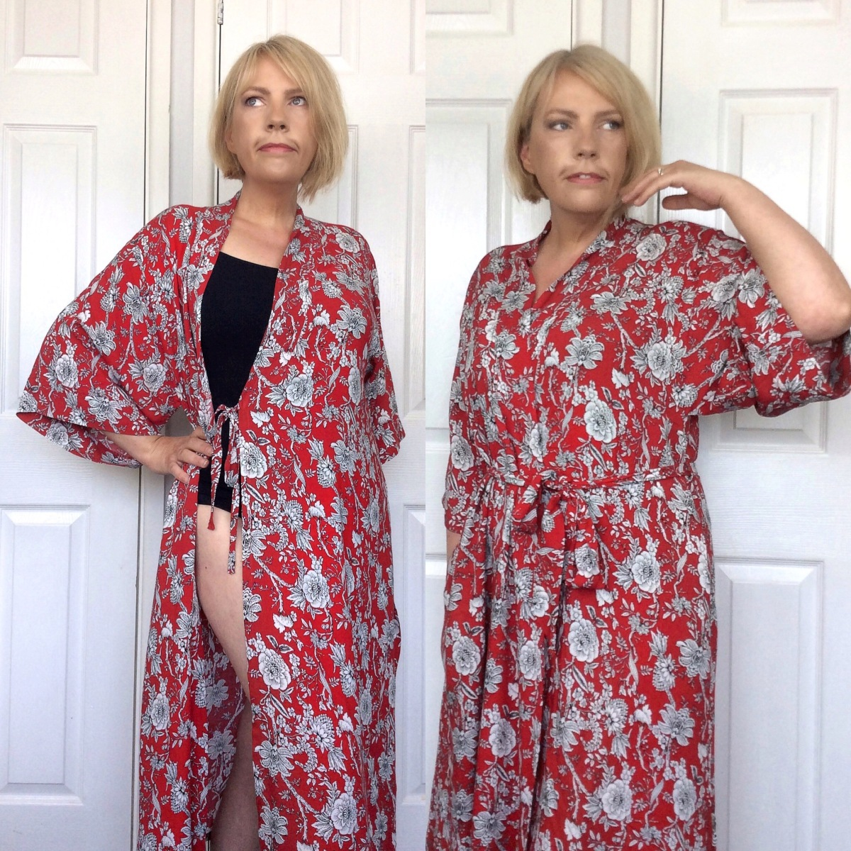 Pattern Testing the Suki Kimono by Helen's Closet!