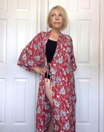 Suki Kimono Pattern Testing