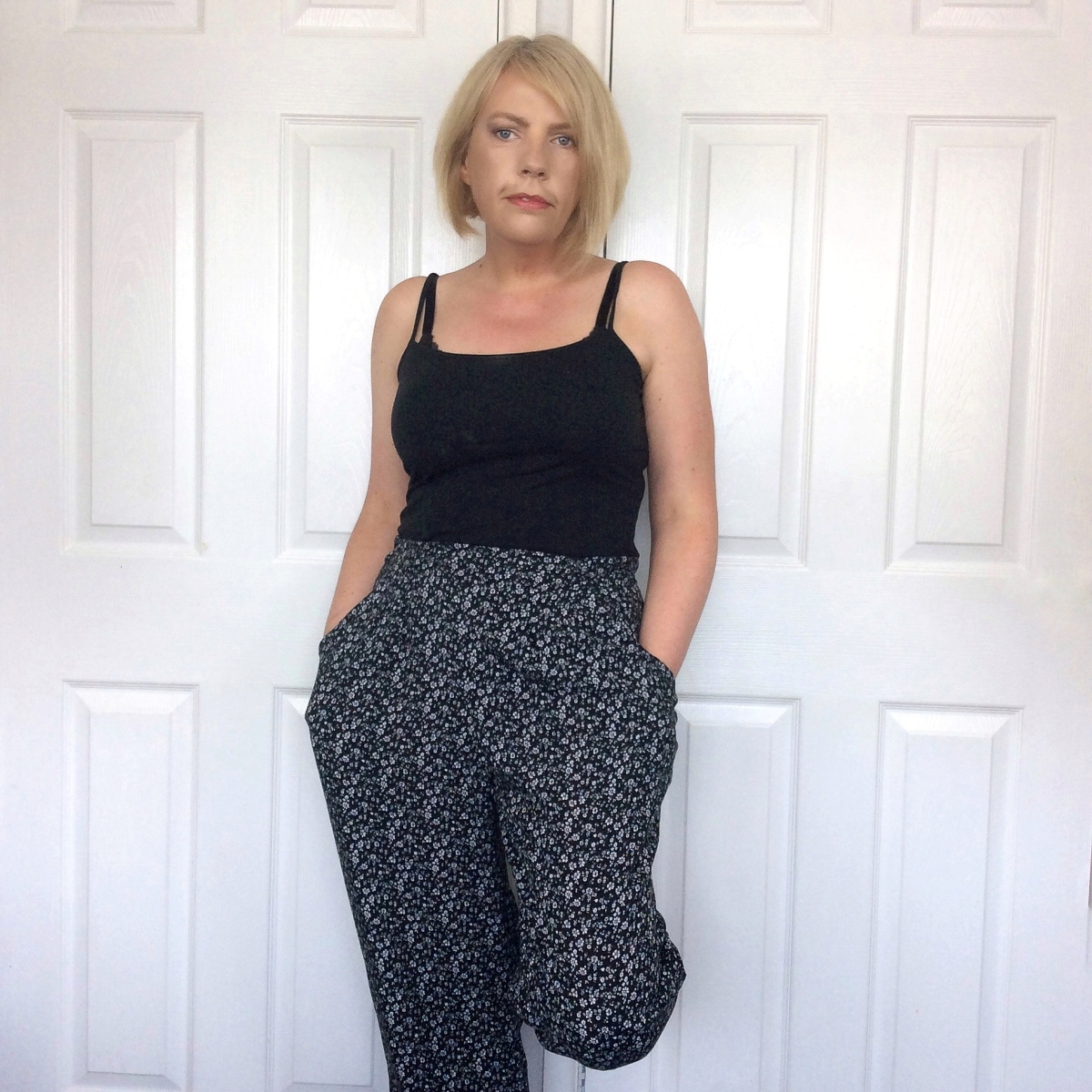 Viscose Harem Style Trousers : Simplicity 1887