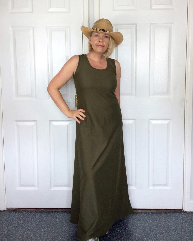 Dune maxi dress