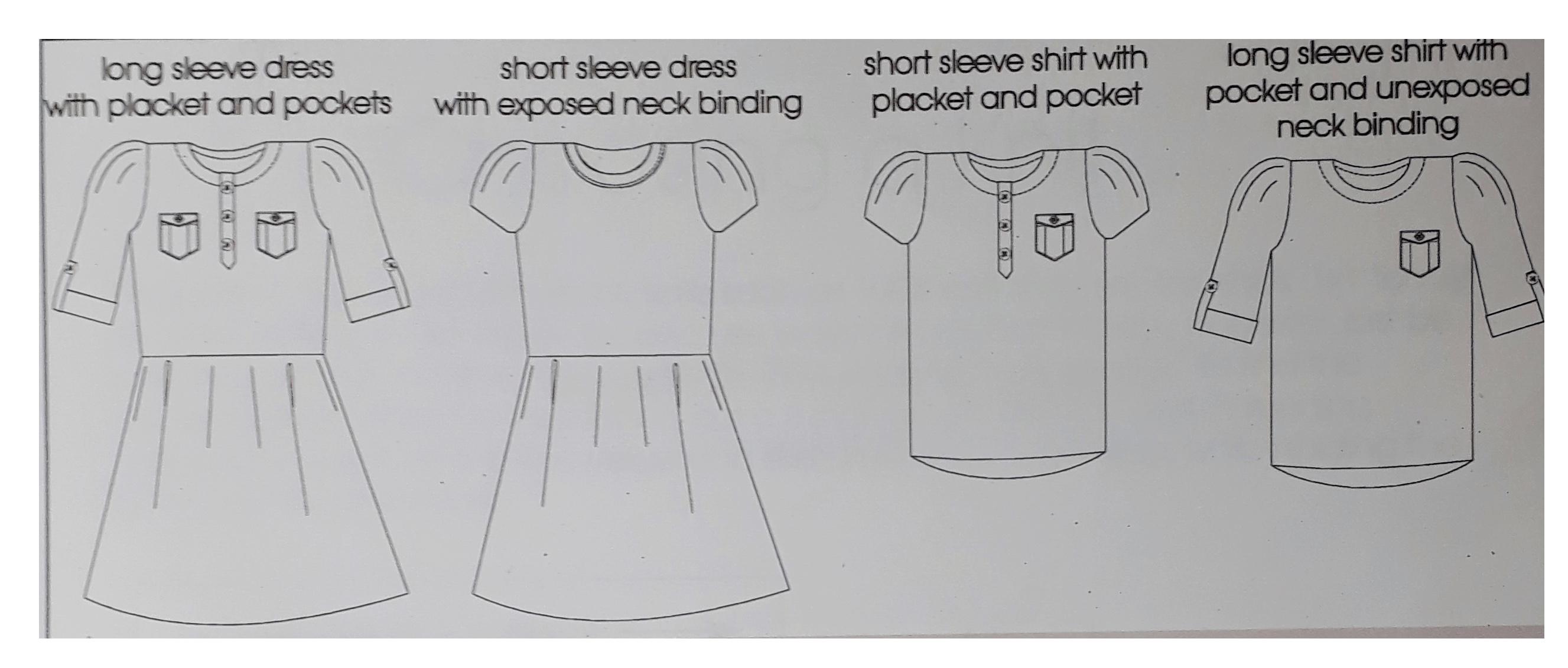 Kensington Dress by Hey June patterns