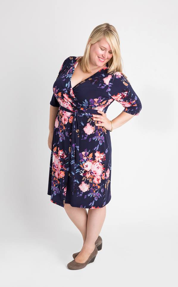 Appleton Wrap Dress #2018makenine