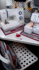 How to make your own sewing machine mats