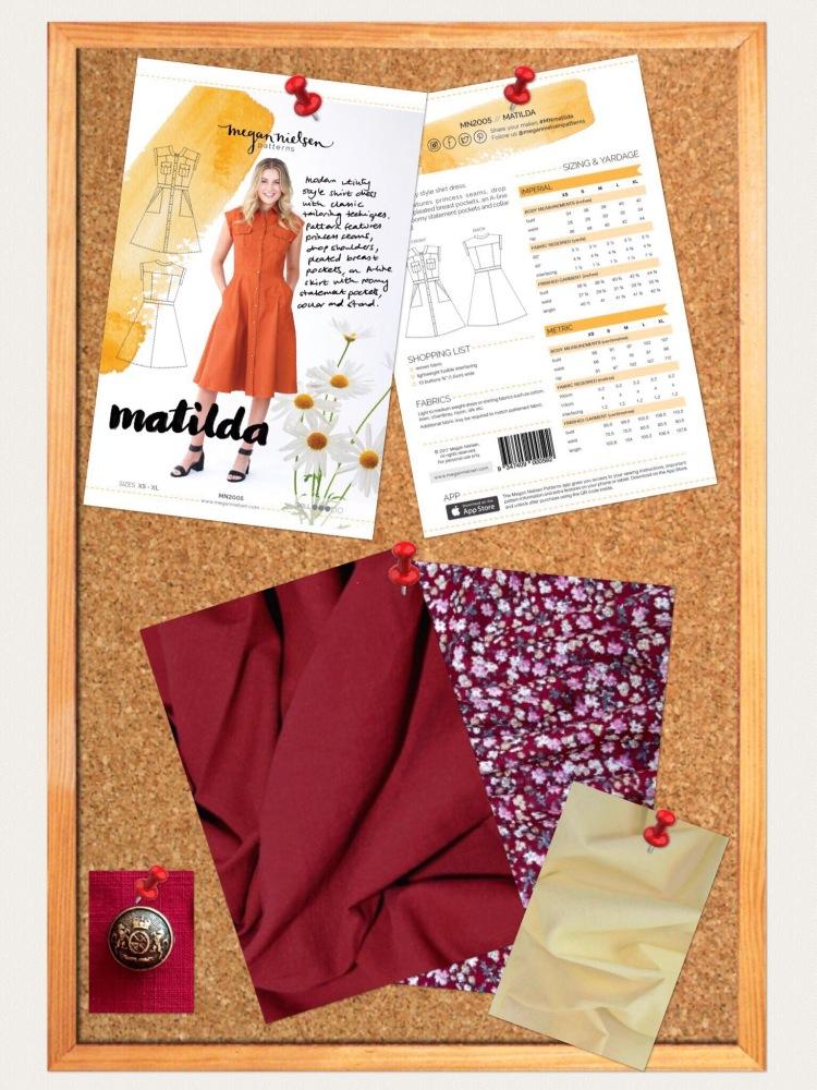Megan Nielsen Matilda Shirtdress review