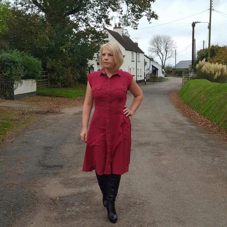 Matilda Shirtdress by Megan Nielsen