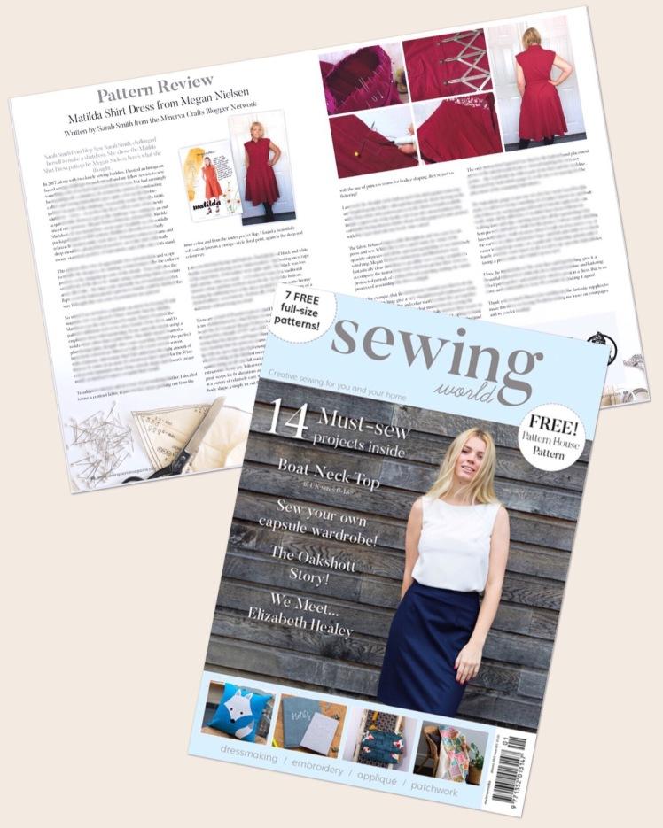 The Matilda Shirtdress by Megan Nielsen : my first magazine article ...