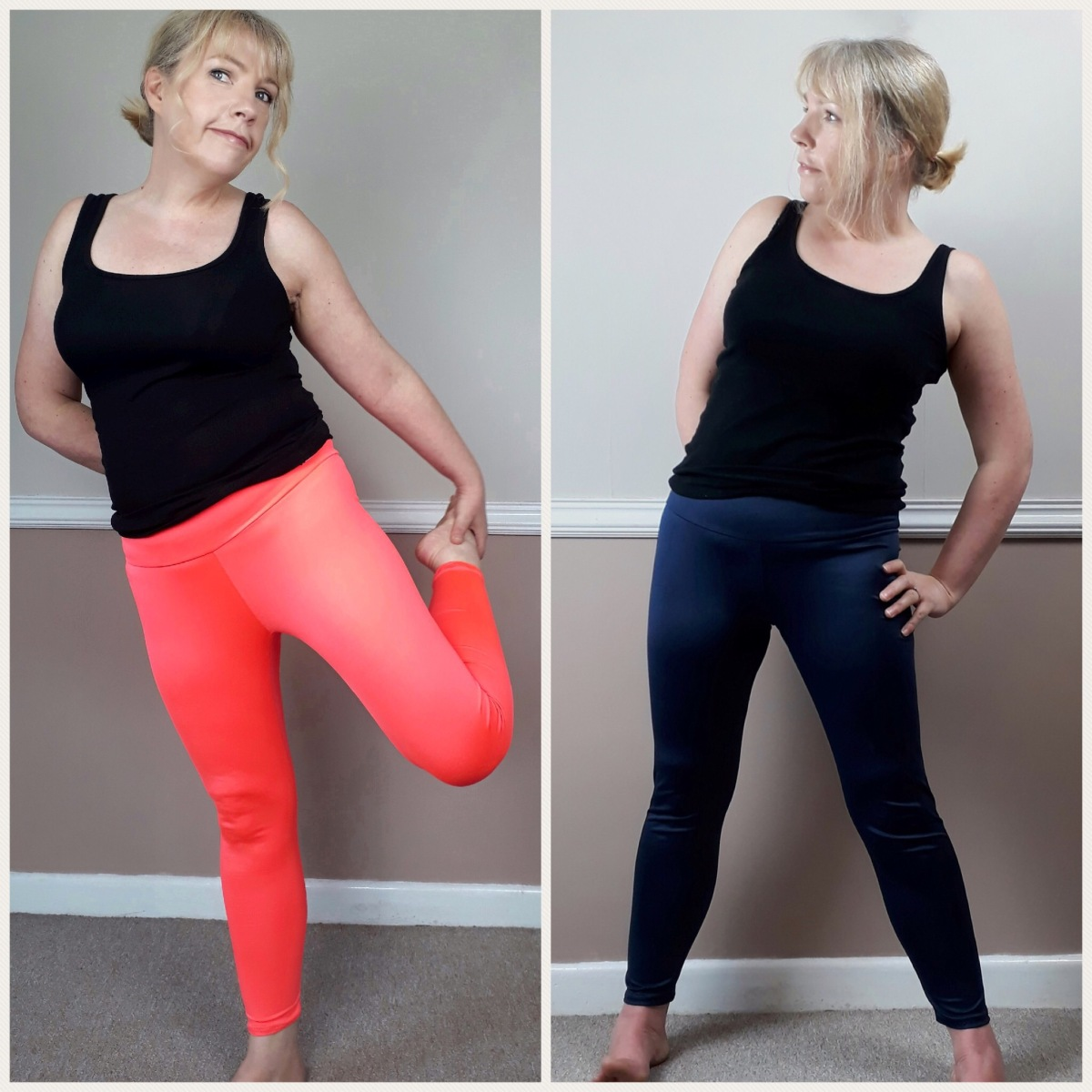 Pattern Testing the Avery Leggings by Helen's Closet