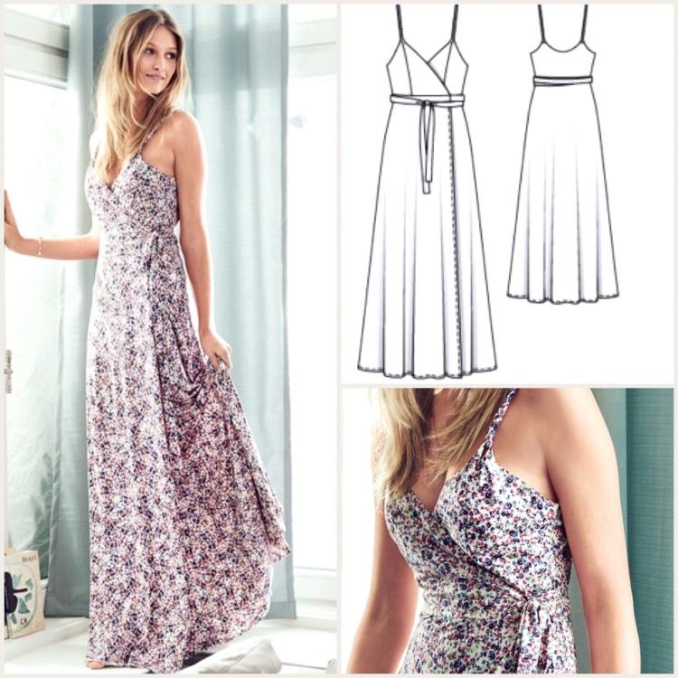 cd47e4672662e Burda and Big 4   Our  sewtogetherforsummer Wrap Dress Pattern Picks ...