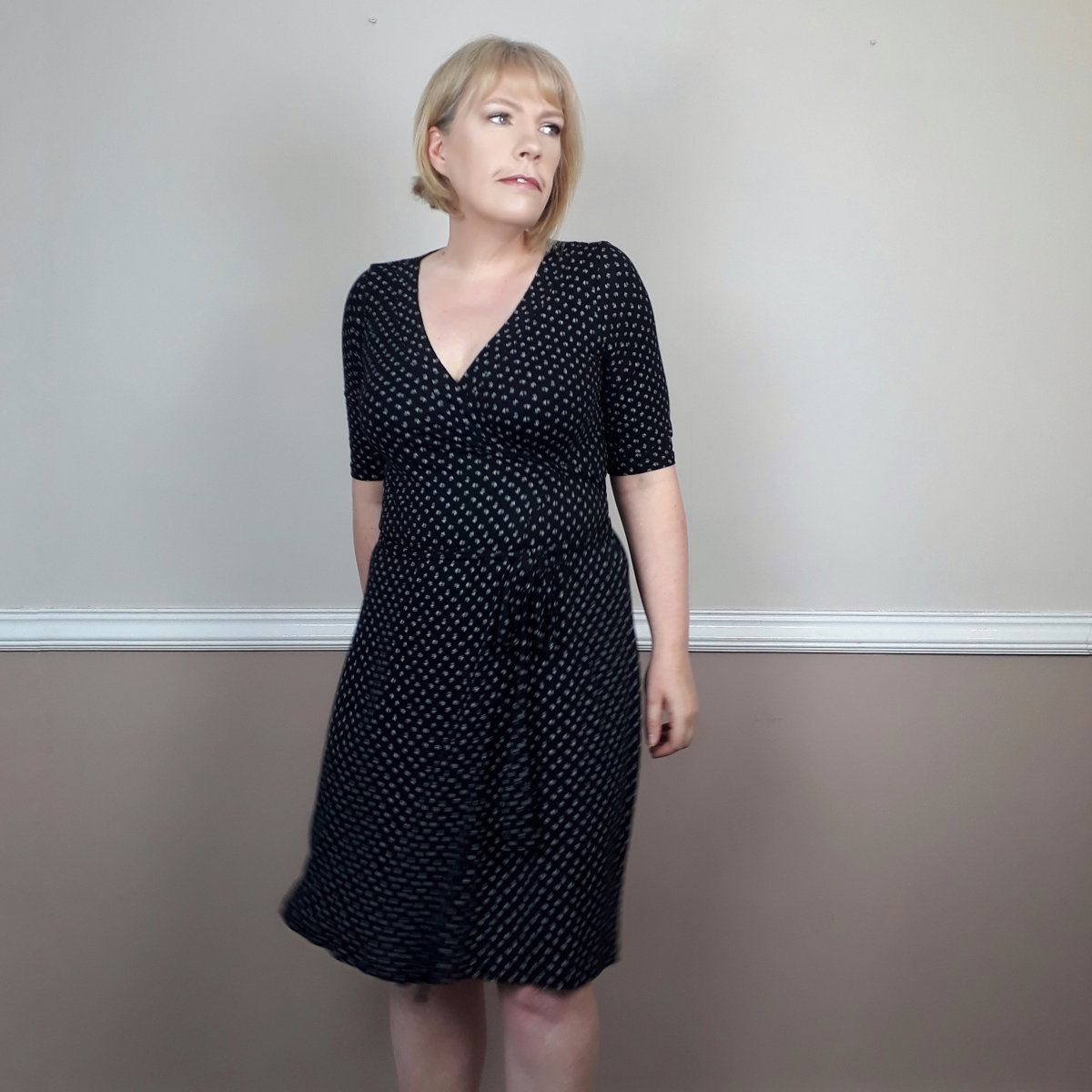 My #sewtogetherforsummer Wrap Dress: the Appleton by Cashmerette