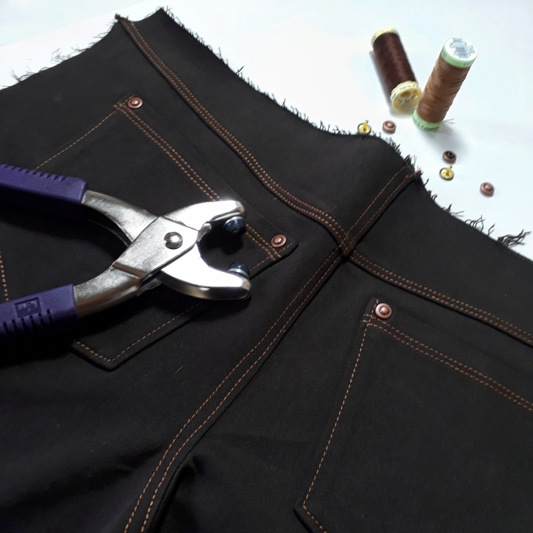 topstitching jeans how to