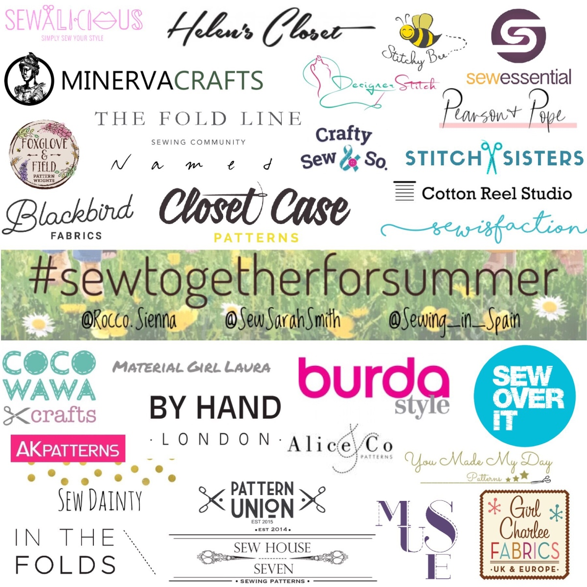 #sewtogetherforsummer 2019 - The Sponsored Gifts!