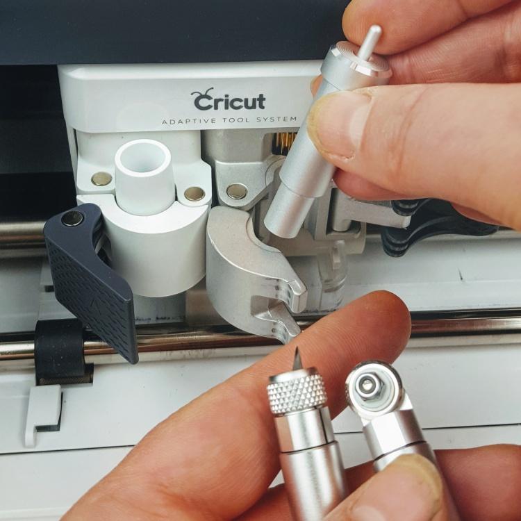 Cricut Maker blades housing clamp