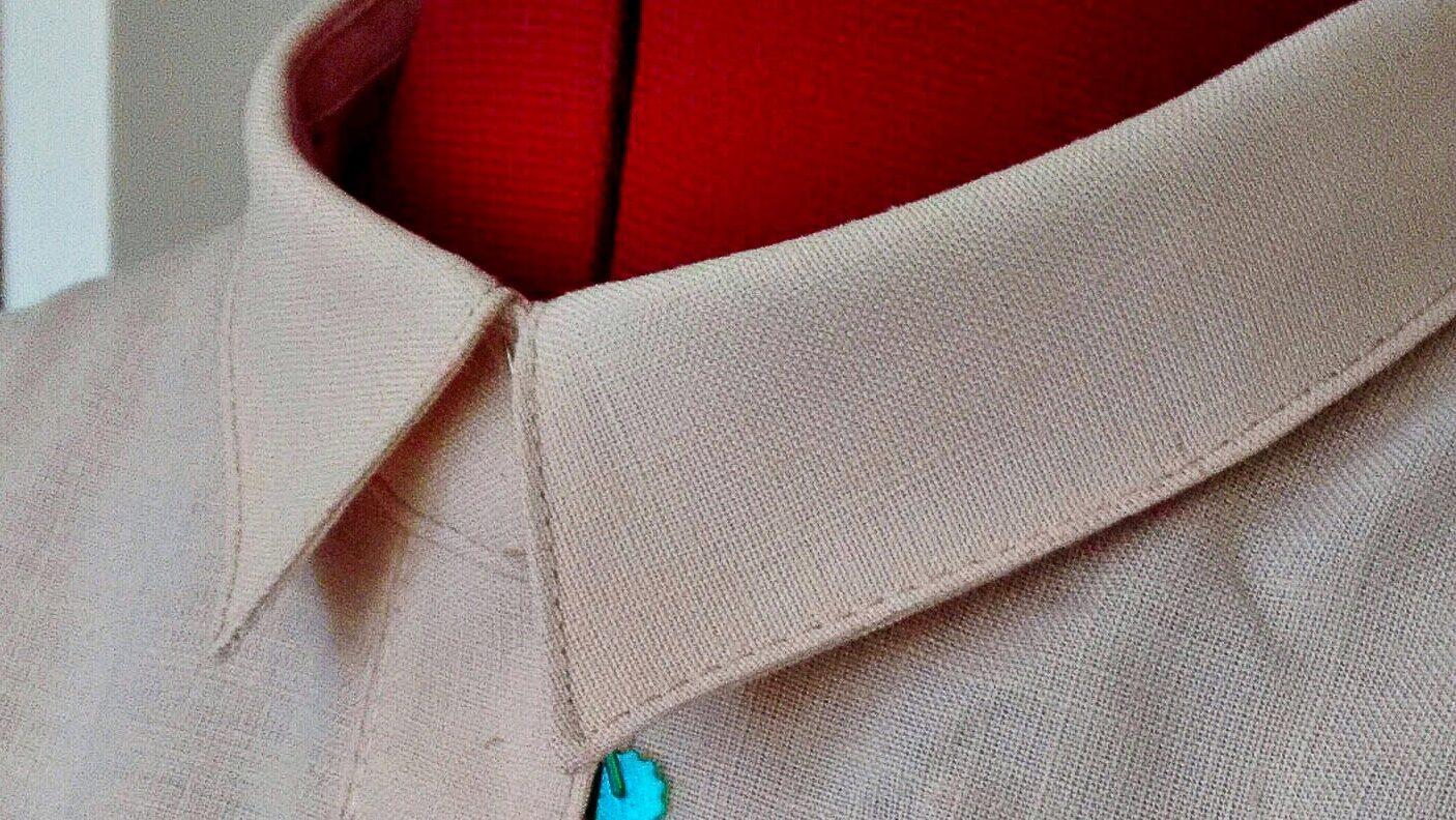 Collar sewalong sewtogetherforsummer shirtdress